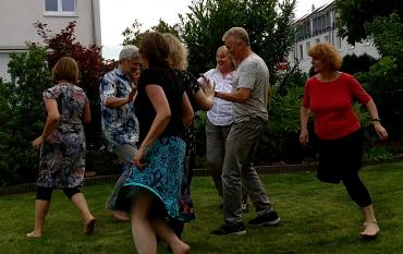 Sommerparty bei Joachim und Anja im Juni 2017